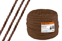 Провод-ретро 3х1,5 коричневый