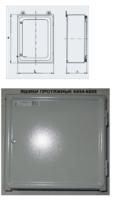 Ящик К654М У3 400х400 окрашенный IP31