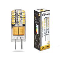Лампа LED Feron 5W 12V G4 6400K LB-