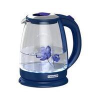 Чайник Ладомир 1,8л. 2000Вт стекло АА121 подсветка синий