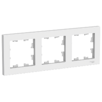 Рамка AtlasDesign 3-м бел ATN000103