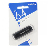 Флеш-диск Smartbuy 64GB Dock черный