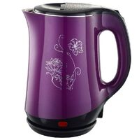 Чайник Добрыня DO-1244 (2кВт, 1,8л) двойная стенка фиолет