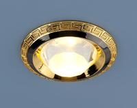 Свет-к точ. MR16 867А черн/золото